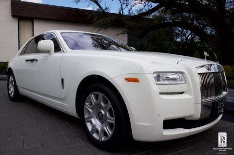 Certified Pre-Owned 2010 Rolls-Royce Ghost  RWD 4dr Car