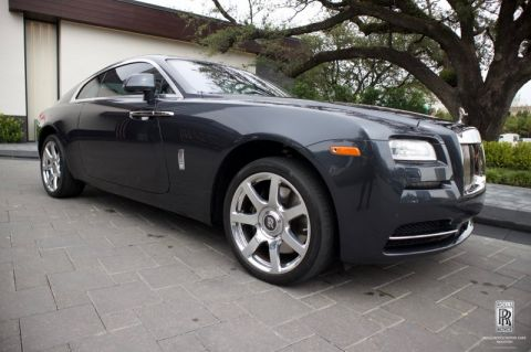 Certified Pre-Owned 2016 Rolls-Royce Wraith  RWD 2dr Car