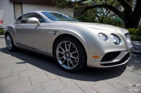 Certified Pre-Owned 2016 Bentley Continental GT V8 S AWD