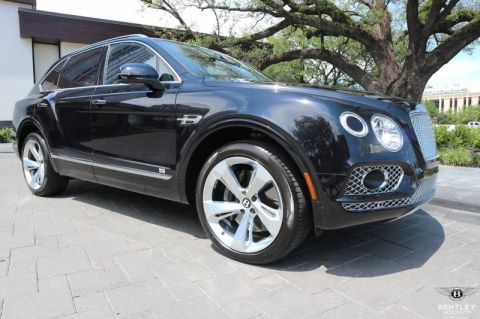 Pre-Owned 2018 Bentley Bentayga W12 Signature AWD