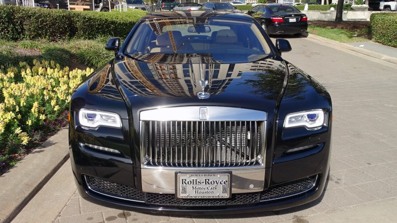 Pre owned 2017 rolls royce ghost 4dr car in houston for Rolls royce motor cars houston