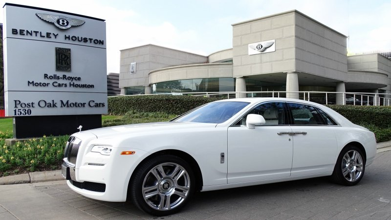 new 2017 rolls royce ghost 4dr car in houston hux54041