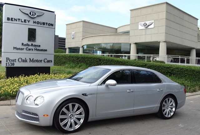 Arrive in style in this Certified 2016 Bentley Flying Spur W12