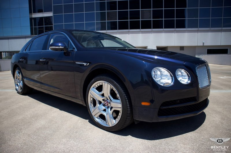 Certified Pre-Owned 2015 Bentley Flying Spur V8 4dr Car in Houston ...