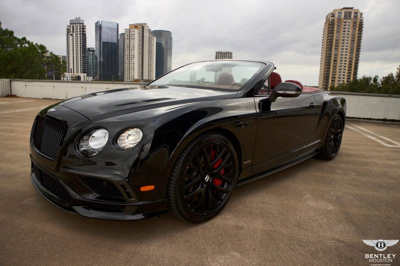 Exceptionnel New 2018 Bentley Continental GTC Supersports