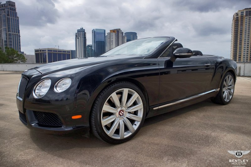 Certified Pre-Owned 2013 Bentley Continental GTC V8 Convertible in ...