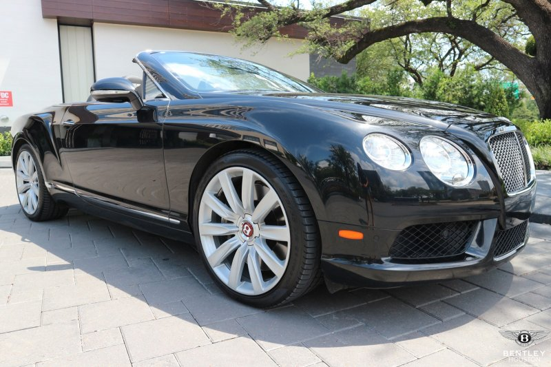 Certified Pre Owned 2013 Bentley Continental Gtc V8 Convertible In