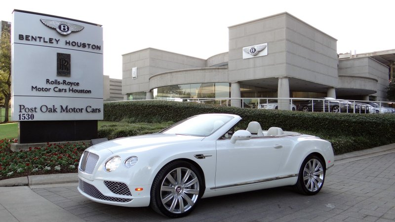 New 2017 Bentley Continental GTC V8