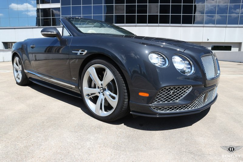 New 2017 Bentley Continental Gtc Speed Convertible In Houston